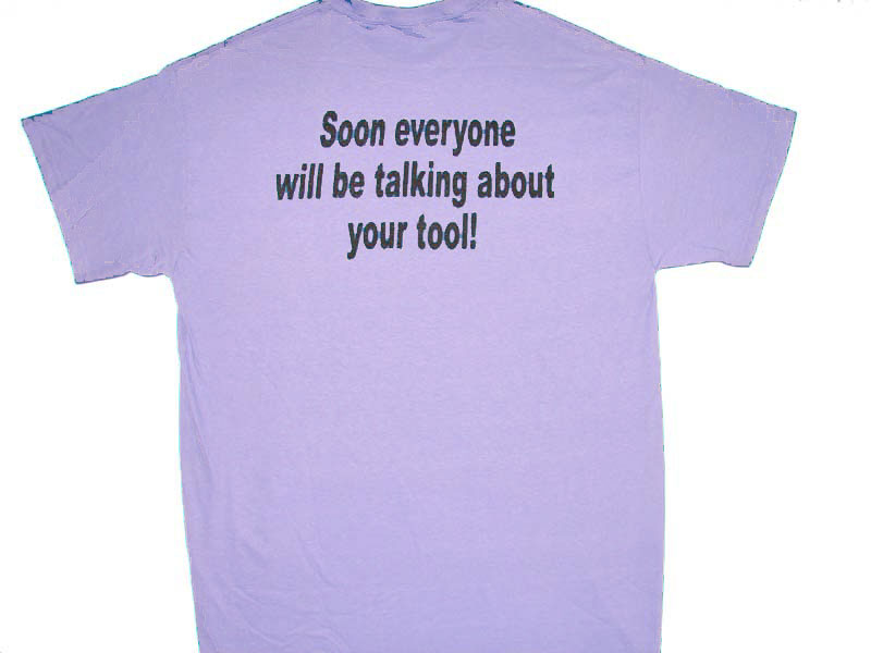 Talking about tool Tee